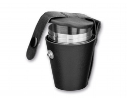 Sada pohárků CUP SET III, 4ks - stříbrná