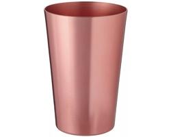 Kovová sklenice LIGHTCUP, 400 ml - měděná