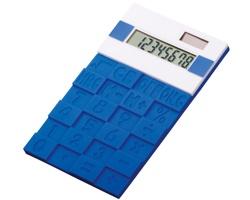 Pružná kalkulačka FUNIX - modrá