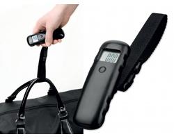 Digitální váha na zavazadla HEFTER - černá