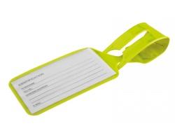 Plastová jmenovka na zavazadlo MYTAG - žlutá