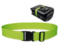 Textilní popruh na kufr NEO - světle zelená