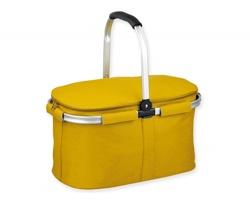 Skládací piknikový termokoš BASKIT - žlutá