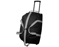 Polyesterová cestovní taška na kolečkách HILTON - černá