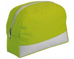 Cestovní polyesterová kosmetická taška ROSETA - světle zelená