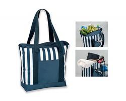 Polyesterová nákupní termotaška AURORA - modrá