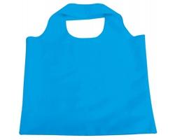 Skládací polyesterová nákupní taška FOLA - světle modrá