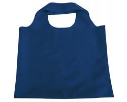 Skládací polyesterová nákupní taška FOLA - modrá
