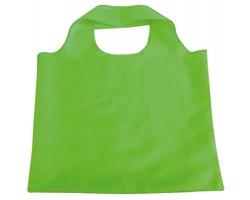 Skládací polyesterová nákupní taška FOLA - světle zelená