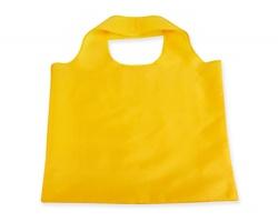 Skládací polyesterová nákupní taška FOLA - žlutá