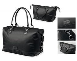 Nylonová cestovní taška Santini MIRABU - černá