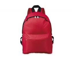 Polyesterový městský batoh ELODIE - červená