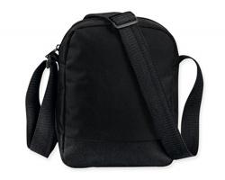 Polyesterová taška přes rameno EDDY - černá