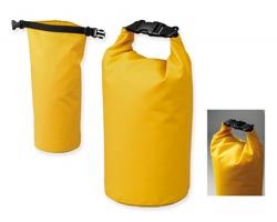 Voděodolný vak GLYNN se zapínáním přezkou - žlutá