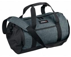 Značková cestovní taška Swissbags FALLON s popruhem přes rameno - šedý melír