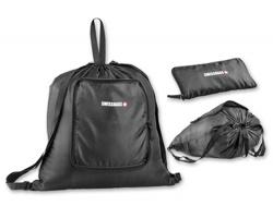 Ripstopový skládací batoh SWISSBAGS BRICE - černá