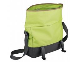 Polyesterová taška DERICK s ramenním popruhem - světle zelená