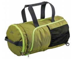 Polyesterová cestovní taška Beaver GARROT se skrytými ramenními popruhy - khaki