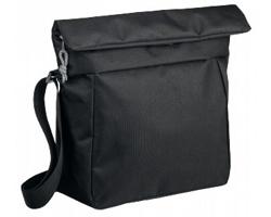 Polyesterová taška přes rameno NOLLIE - černá