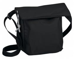 Polyesterová taška SHANNON přes rameno - černá