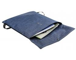 Polyesterový batoh HAZEL, obsah 5 l - modrý melír