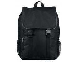 Polyesterový batoh HEDY se zapínáním na přezky - černá