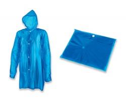 Igelitová pláštěnka SPLASH - světle modrá