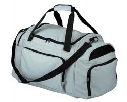Cestovní taška GIRALDO - světle šedá