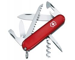 Kovový kapesní nůž Victorinox CAMPER, 13 funkcí - červená