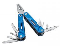 Nerezový multifunkční nástroj JUNIOR, 9 funkcí - královská modrá