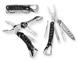 Značkový multifunkční nástroj Leatherman MASTER TOOL, 8 funkcí - stříbrná