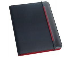 Polyesterové pouzdro na dokumenty FITZGERALD, A4 - červená