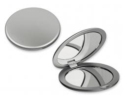 Plastové zrcátko MEIRA - saténově stříbrná