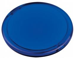 Plastové zrcátko MEIRA - transparentní modrá