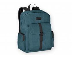 Batoh z bavlněného plátna EPI s prostorem na notebook - modrá