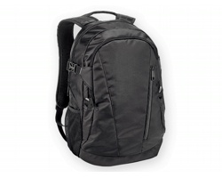 Polyesterový batoh na notebook OLYMPIA - černá