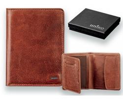 Kožená pánská peněženka Uniko RODRIGO - hnědá
