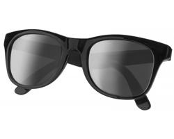 Plastové sluneční retro brýle ELTON - černá