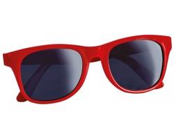 Plastové sluneční retro brýle ELTON - červená