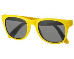 Plastové sluneční retro brýle ELTON - žlutá