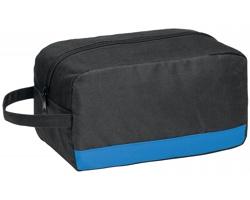 Polyesterová kosmetická taška COSMI s poutkem - královská modrá