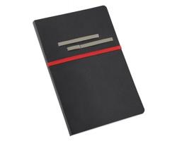 Poznámkový zápisník HIDEA DESIGN ROOTS, formát A5 - červená