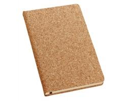 Korkový poznámkový zápisník NOTECO I - přírodní