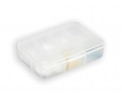 Plastový box na léky PILLIN, 7 přihrádek - bílá