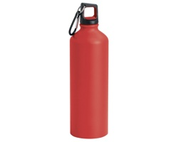 Hliníková sportovní láhev SPORTY, 800ml - červená