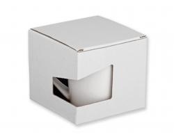 Papírová dárková krabička GB WRING - bílá