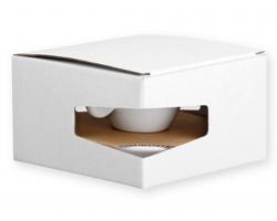 Papírová dárková krabička GB PRESSO - bílá