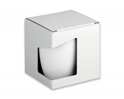 Papírová dárková krabička GB ERGO - bílá