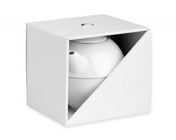 Papírová dárková krabička GB TEASET II - bílá