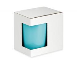 Papírová dárková krabička GB COLORITO - bílá